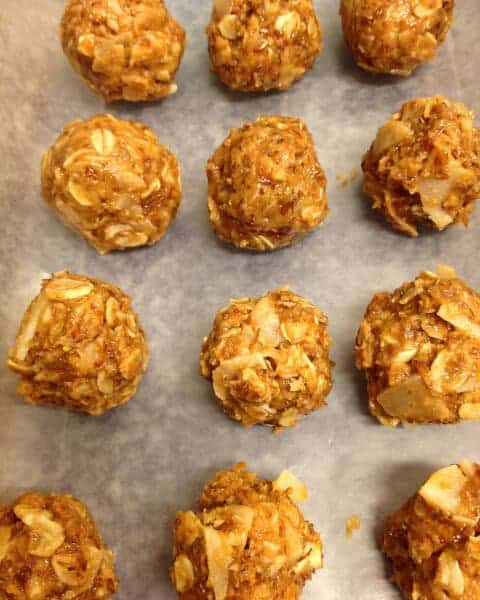doTERRA Cinnamon Peanut Butter Energy Balls Recipe