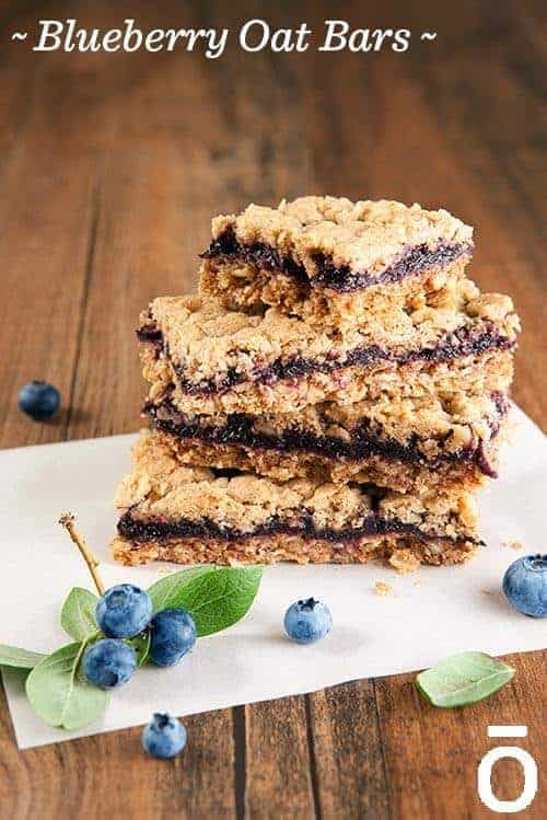 doTERRA Blueberry Oat Bars