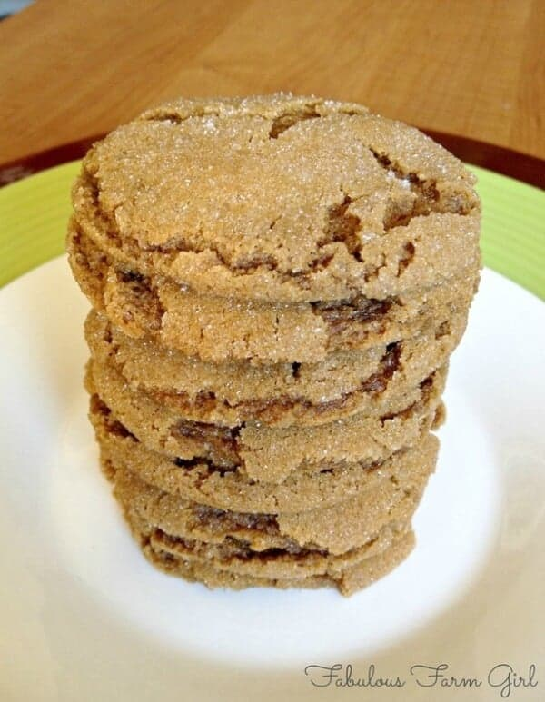 doTERRA Brown Butter Gingerbread Cookies Recipe