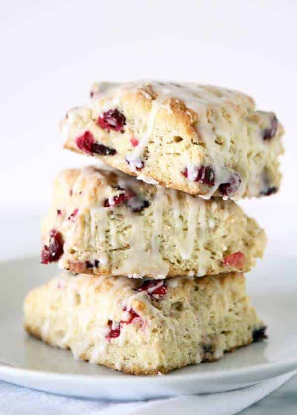 doTERRA Cranberry Scone with Wild Orange Essential Oil Recipe