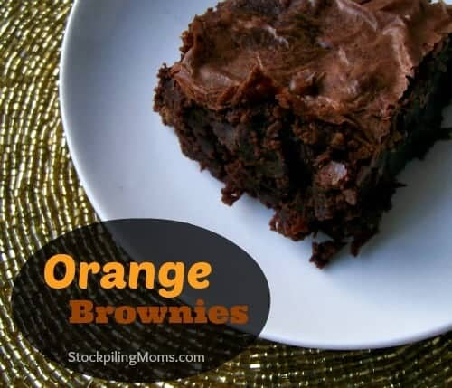 doTERRA Orange Brownies Recipe