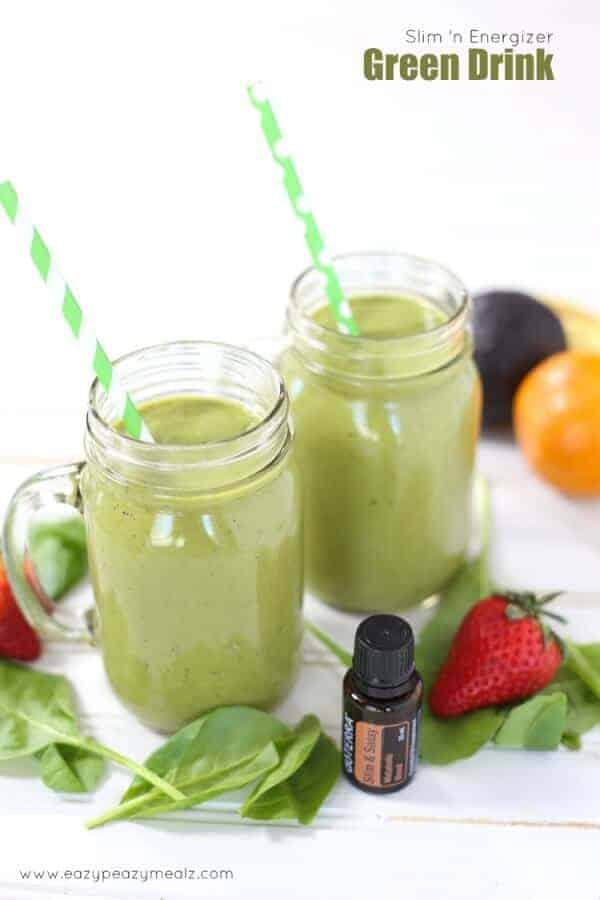 doTERRA Slim N Energizer Green Drink Recipe