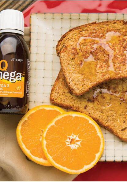 doTERRA IQ Mega French Toast Recipe