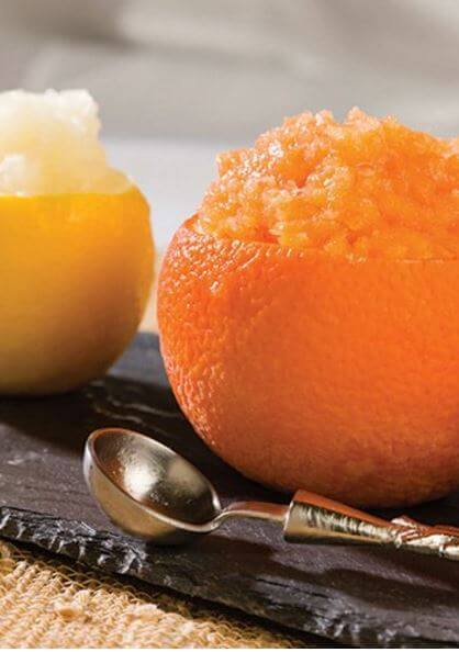 doTERRA Lemon and Orange Granitas Recipe