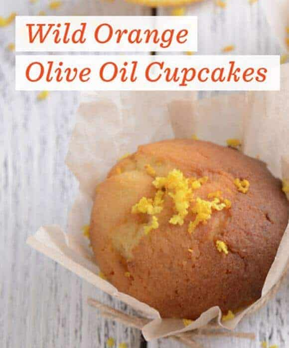 doTERRA Wild Orange Olive Cup Cakes Recipe