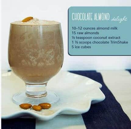 doTERRA Chocolate Almond Delight Trim Shake Recipe