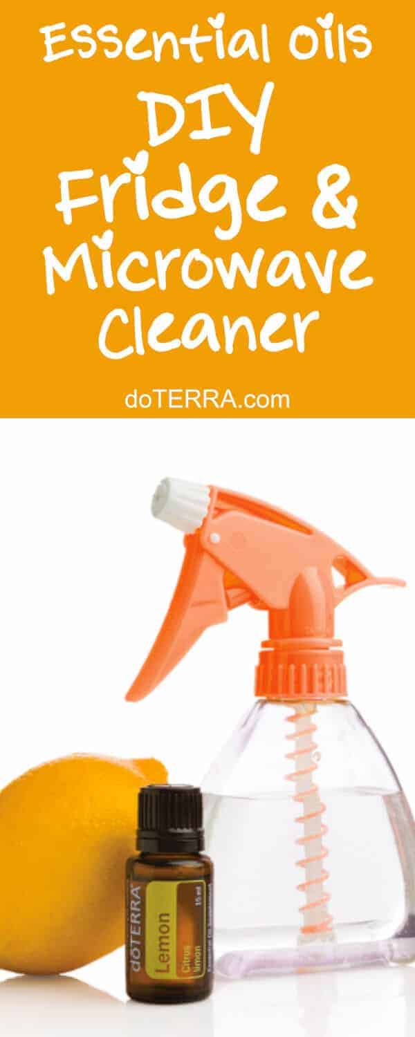doTERRA DIY Fridge & Microwave Cleaner Recipe