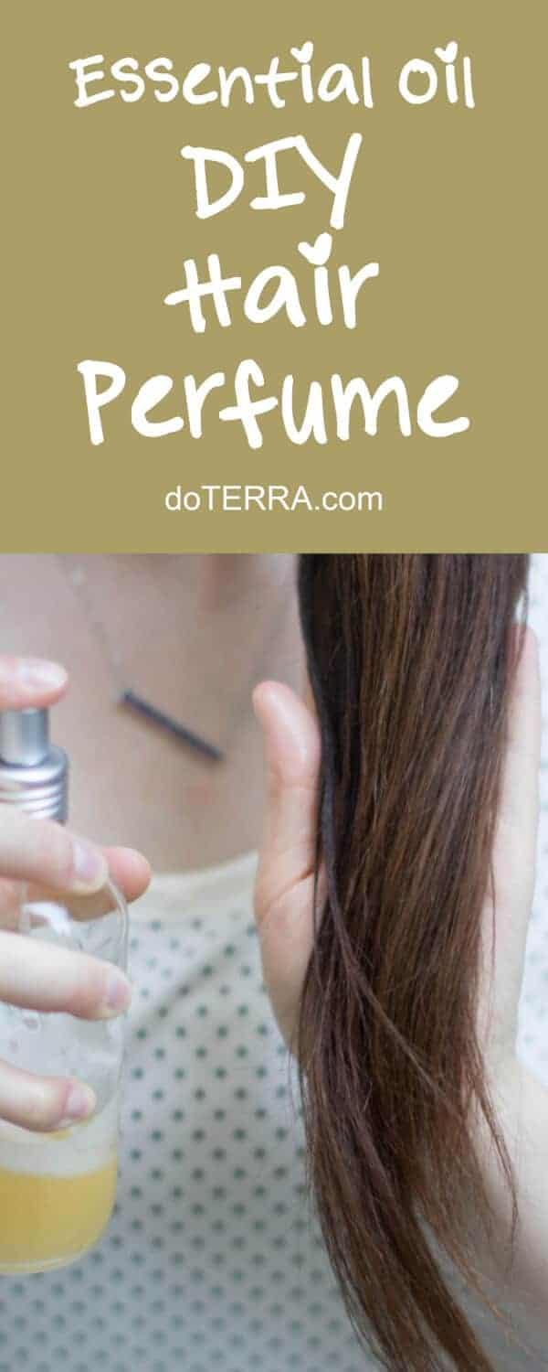 doTERRA DIY Hair Perfume Recipe