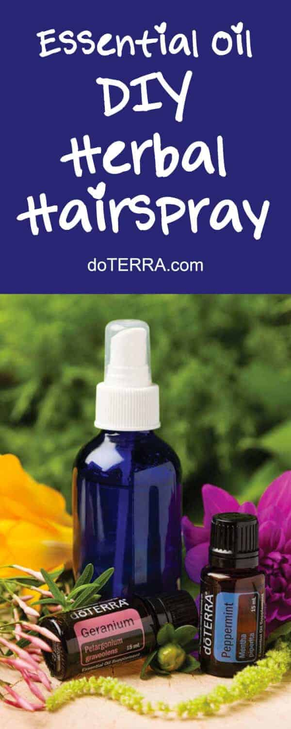 doTERRA DIY Herbal Hairspray Recipe