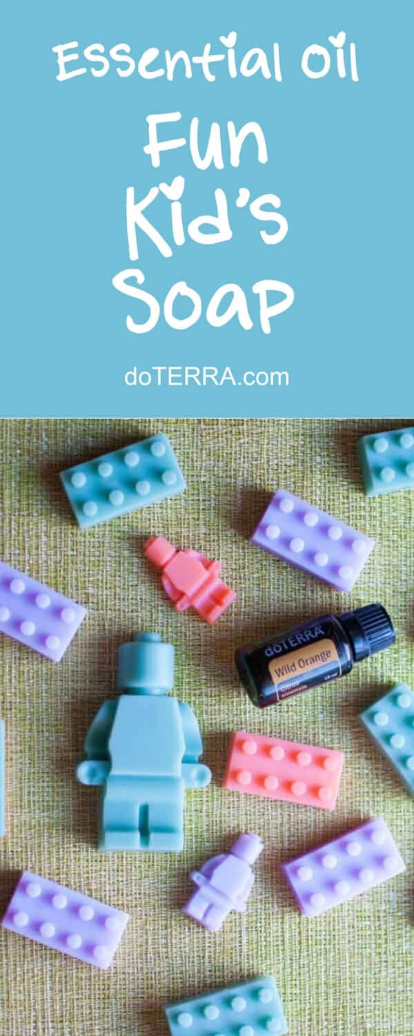 doTERRA DIY: How to Make Fun Soap For Kids