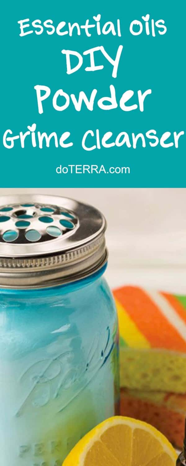 doTERRA DIY Powder Grime Cleanser Recipe
