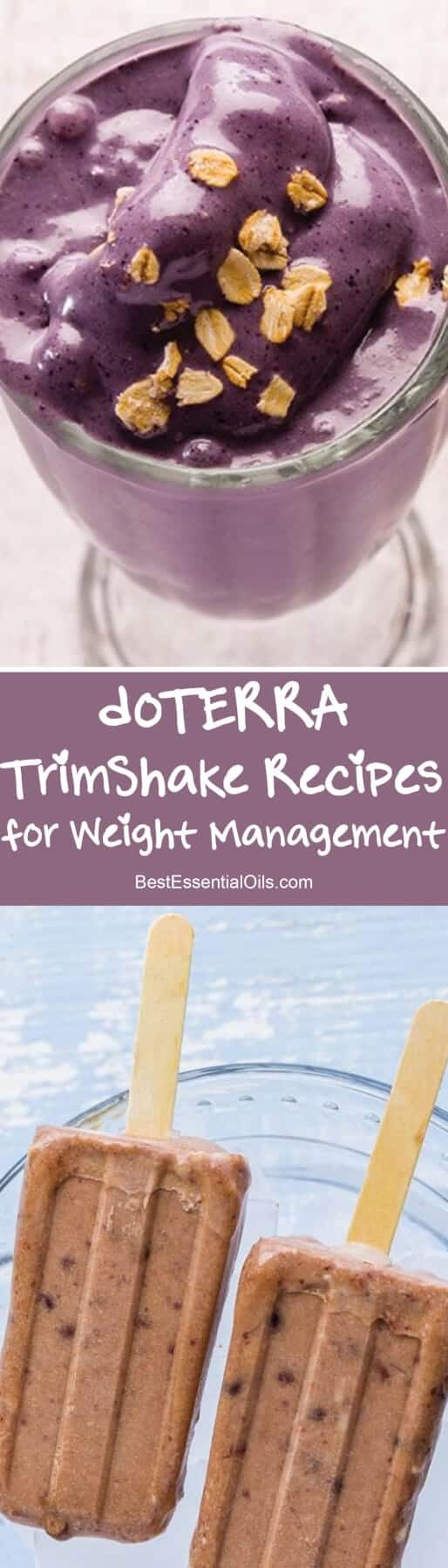 doTERRA Trim Shake Recipe Ideas for Weight Management