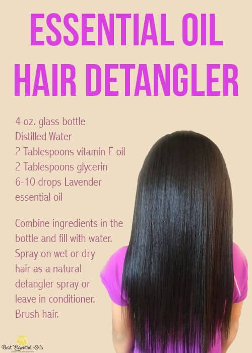 doTERRA Hair Detangler Recipe