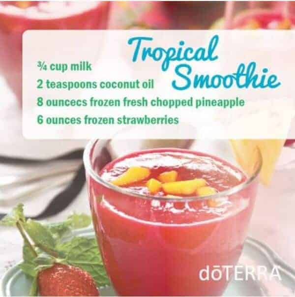doTERRA Tropical Trim Shake Smoothie Recipe