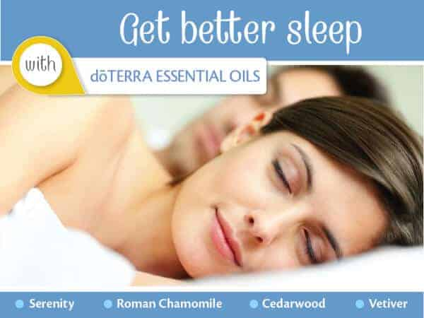 Get Better Sleep with doTERRA essential oils
