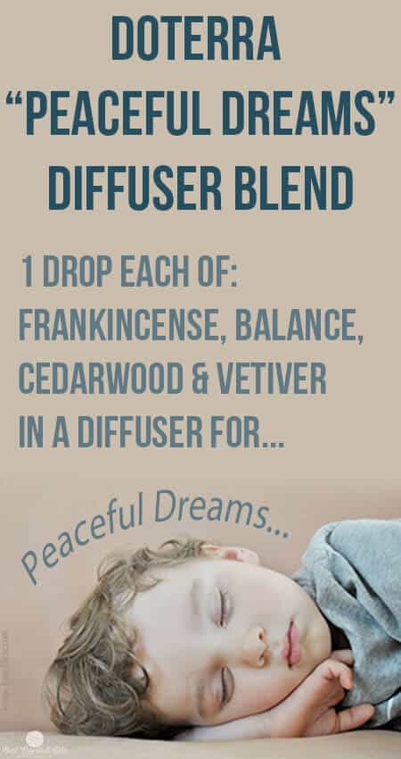doTERRA Peaceful Dreams Blend