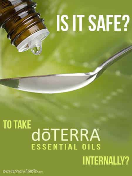 Is It Safe to Take doTERRA Essential Oils Internally?