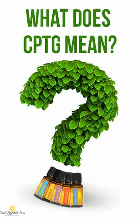 What Does doTERRA CPTG Certified Mean?