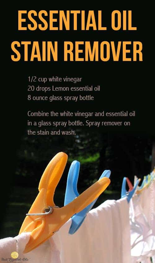 doTERRA DIY Stain Remover Recipe doTERRA Lemon Essential Oil Uses