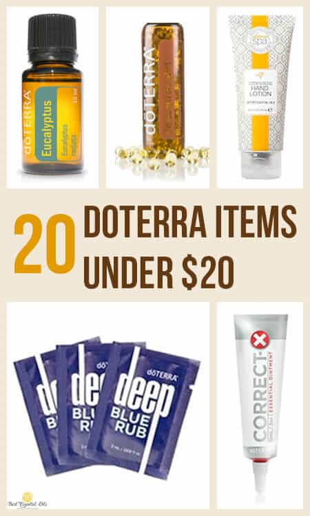 20 doTERRA Items Under $20