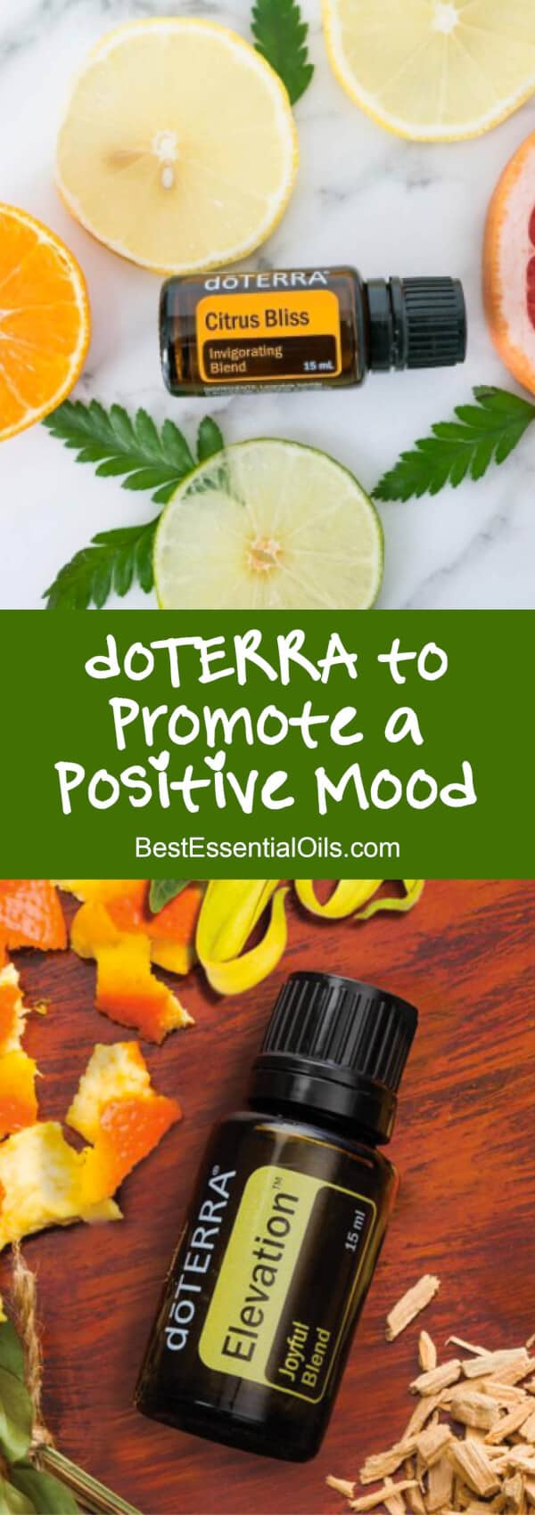 doTERRA Essential Oils to Promote a Positive Mood
