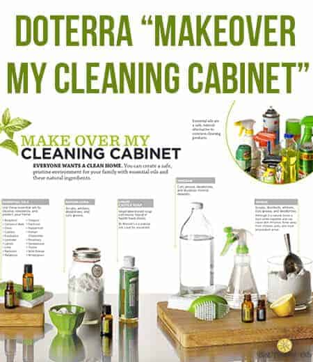 Cleaning Kitchen Cabinets Vinegar Doterra Quot Makeover My Cleaning Cabinet  Quot Best Essential Oils