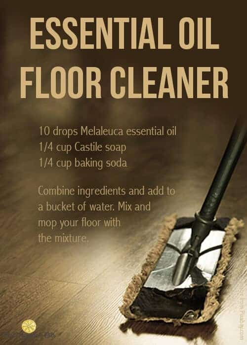 doTERRA Essential Oil Floor Cleaner Recipe