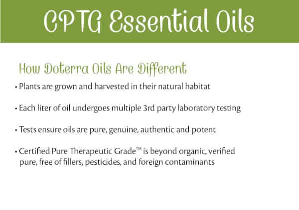 What are CPTG Essential Oils?