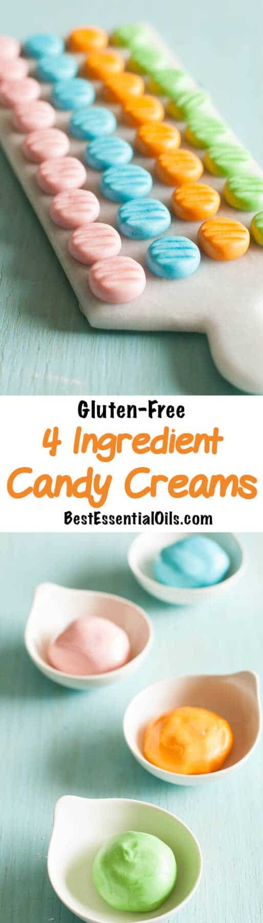 My daughter loves to makes these candy creams because they are so fast, easy and delicious.