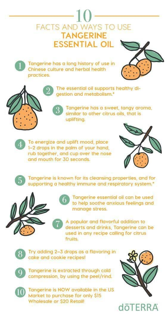 10 Facts and Ways to Use doTERRA Tangerine
