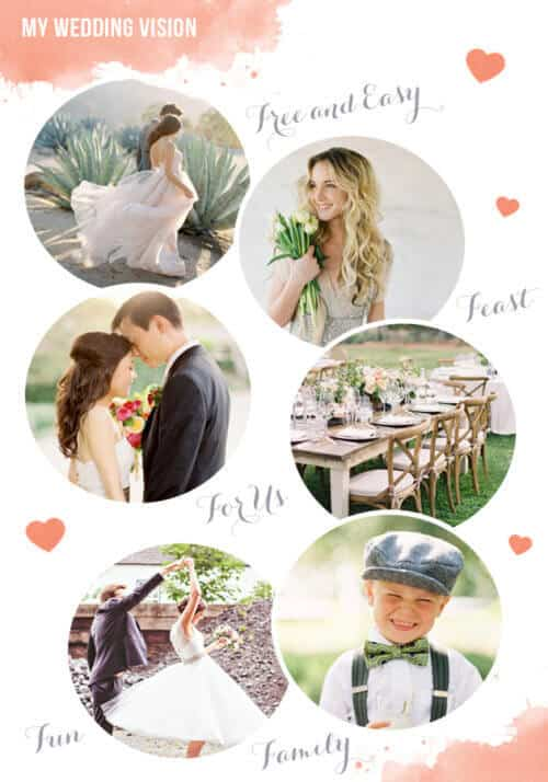 Bridal Musings Vision Board