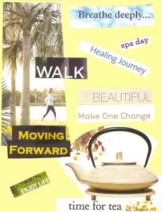 My Health Transformation Coach Vision Board