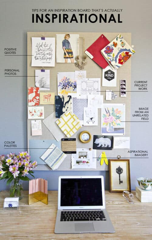 Tips for Creating an Inspiration Board that's Actually Inspirational