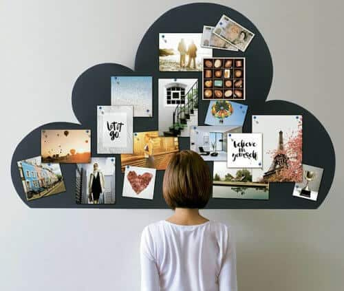 Use Magnetic Paint or Magnetic Tape for a Vision Board