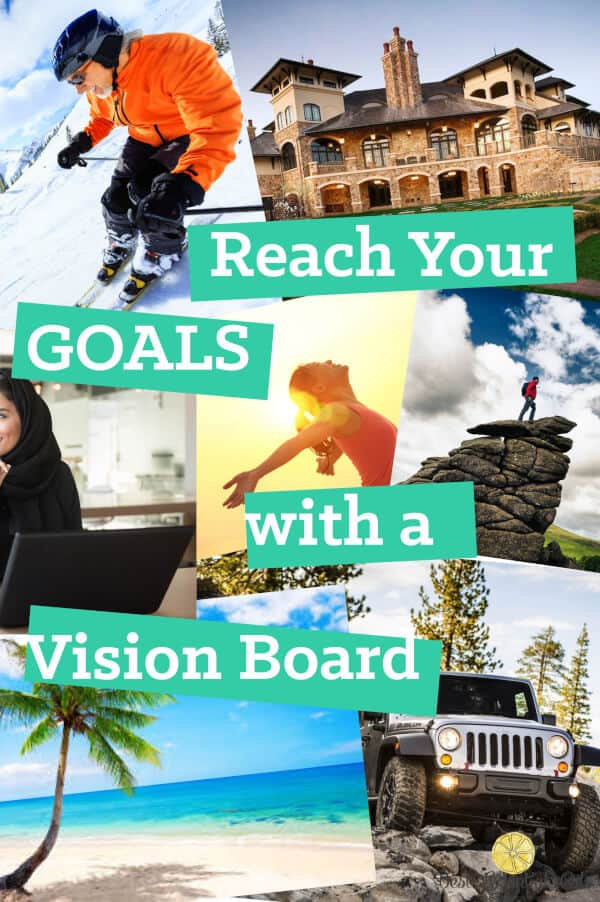 I love my vision board! It inspires me and keeps me going and reminds me what I really want in life. It really does help to have a visual reminder!