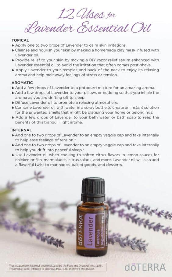 12 Uses for doTERRA Lavender