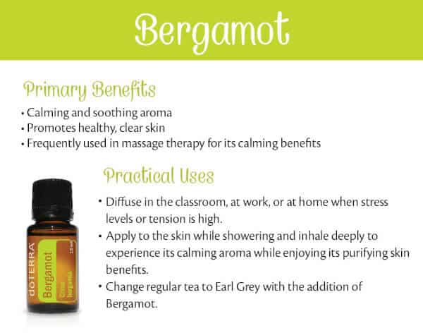 doTERRA Bergamot Benefits and Uses