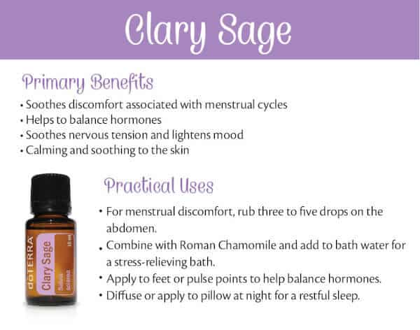 doTERRA Clary Sage Benefits and Uses