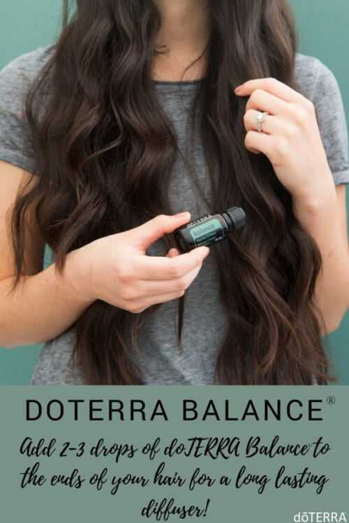 Add doTERRA Balance to Hair