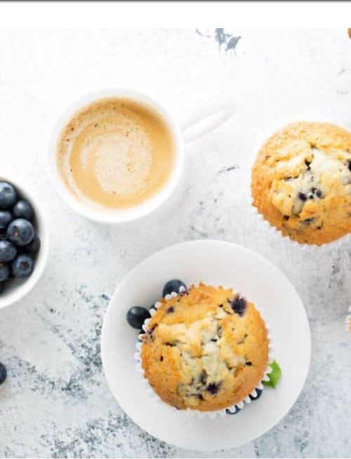 blueberry lemon doterra muffins