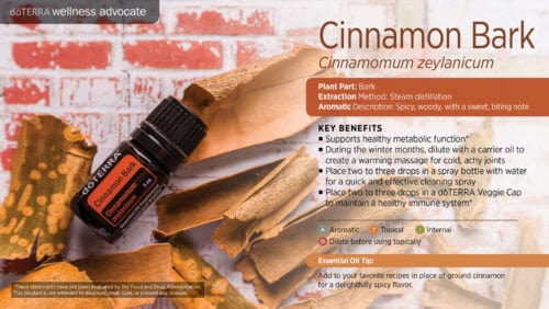 doTERRA cinnamon bark Essential Oil Uses