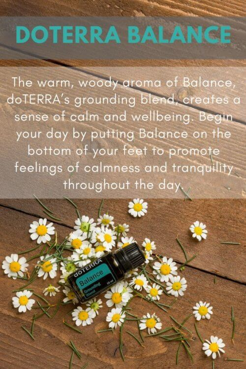 doTERRA Balance Grounding Blend Essential Oil Uses
