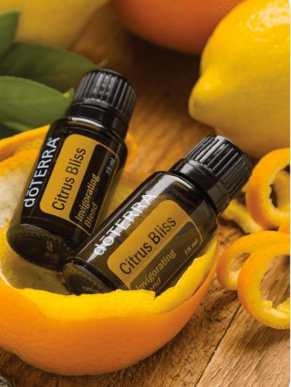 doTERRA Citrus Bliss® Invigorating Blend Essential Oil Uses
