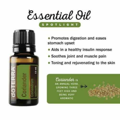 doTERRA Coriander Essential Oil Uses