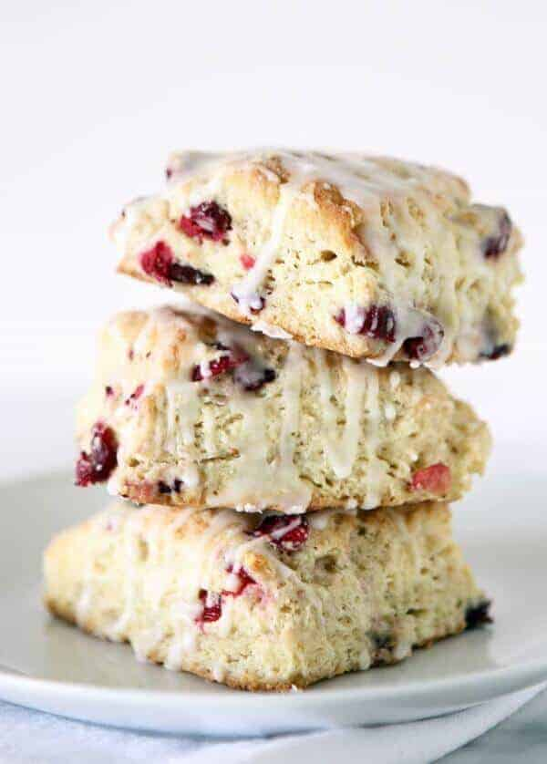 doTERRA Cranberry Scones Recipe with Wild Orange Essential Oil