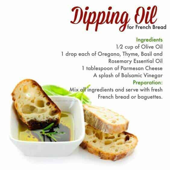 doTERRA Dipping Oil for French Bread Recipe