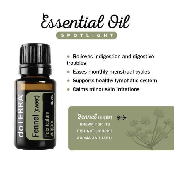 doTERRA Fennel Essential Oil Uses