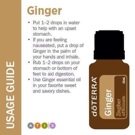 doTERRA Ginger Essential Oil Uses