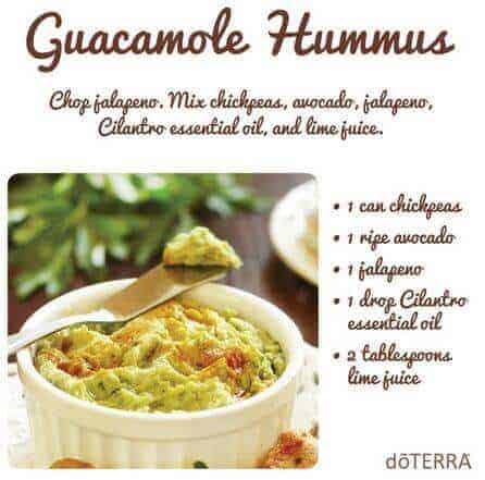 The best doterra appetizer recipes for any meal or party doterra guacamole hummus recipe forumfinder Images