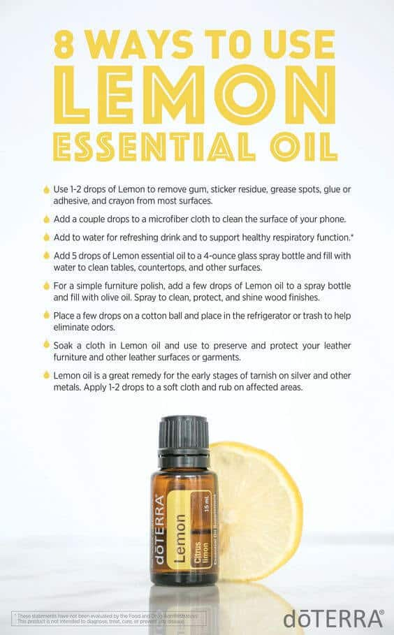 8 Ways to Use doTERRA Lemon Essential Oil